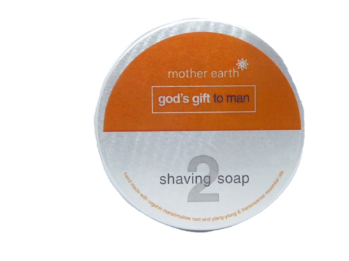 No 2. Shaving soap