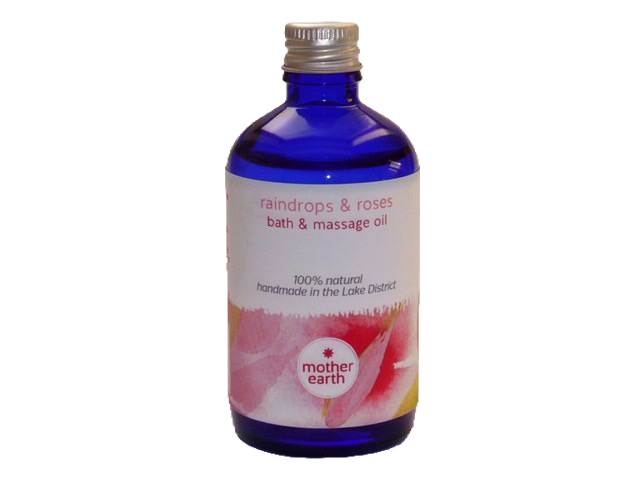 Raindrops & Roses Bath and Massage Oil